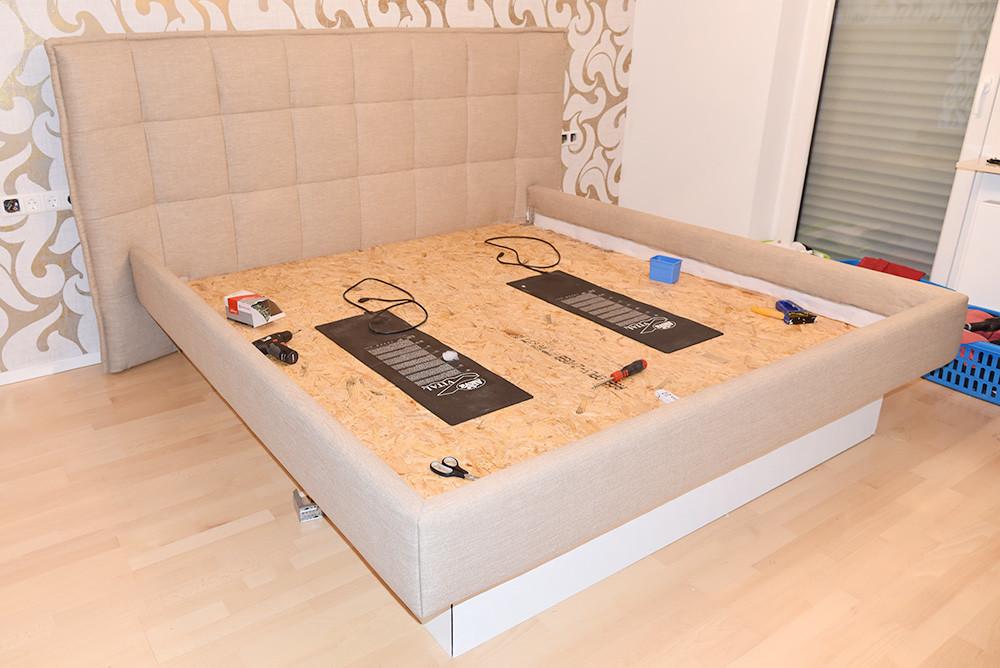 Umbau Hardside Wasserbett Mit Bellus Kopfteil Bianca Betten Stumpf Kg